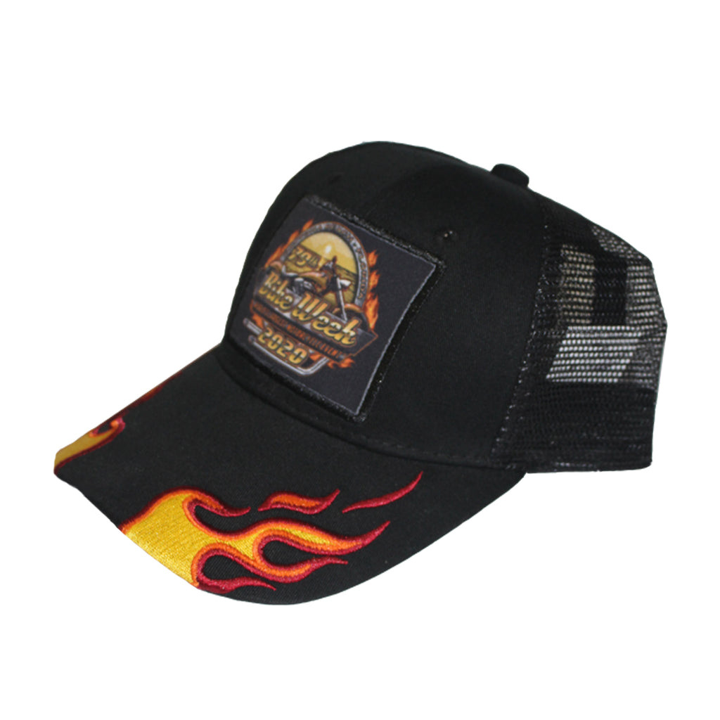 2020 Bike Week Daytona Beach Official Logo Mesh Back Hat