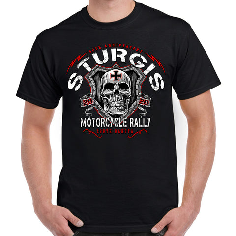 Ladies 2016 Sturgis Indian Skull Burnout Racer Back Tank Top with Rhinestone Accent