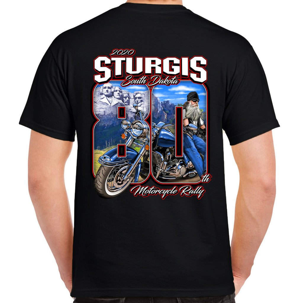 2020 Sturgis Motorcycle Rally 80th Anniversary T-Shirt