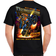 2018 Biketoberfest Daytona Beach Raisin' Hell T-Shirt