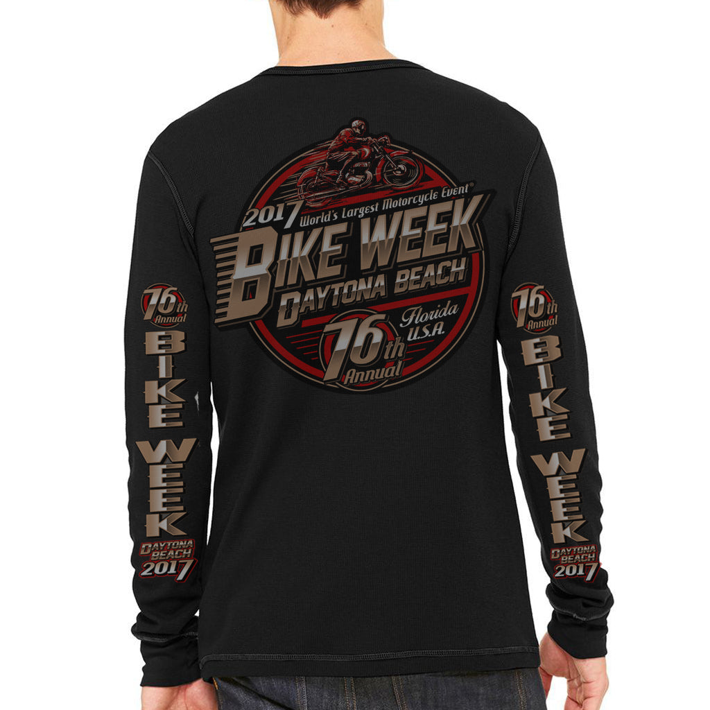 2017 Bike Week Daytona Beach Official Logo Thermal Long Sleeve Shirt