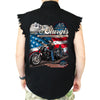 2020 Sturgis Motorcycle Rally American Bikers Cut-Off Denim