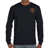Front of 2019 Biketoberfest Rebel Rider Long Sleeve in Black