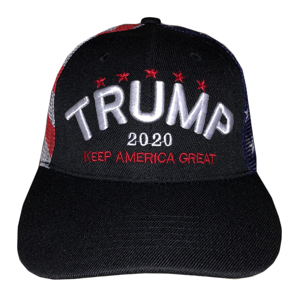 Trump 2020 Flag Mesh Back
