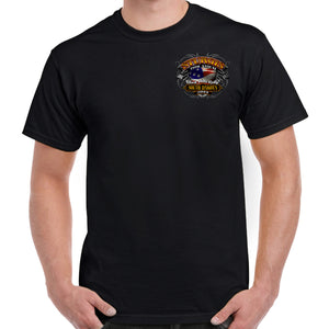 Front of 2019 Sturgis Rebel Rider T-Shirt in Black