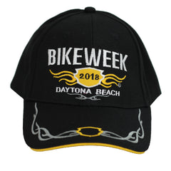 2018 Bike Week Daytona Beach Embroidered Tribal Hat