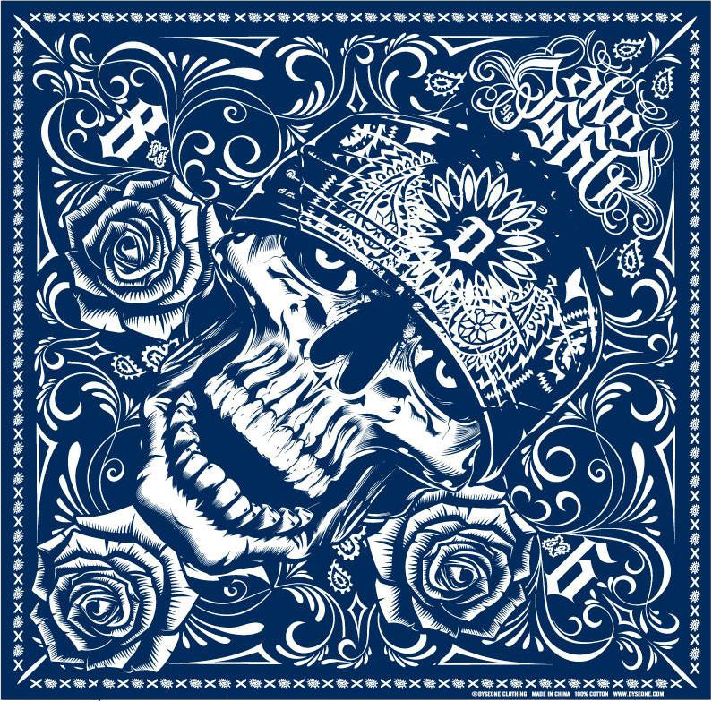 Dyse One Skully Bandana