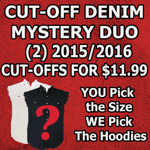 Men's Mystery Duo Cut-Off Denim