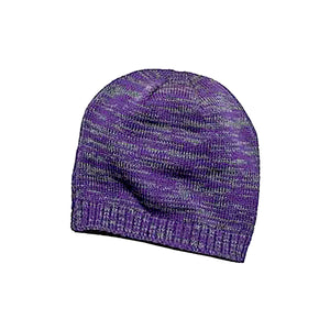 Hardly An Angel Wings Knit Rhinestone Beanie