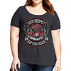 Ladies 2018 Biketoberfest Daytona Beach Rocker Billy Misses Plus Scoop Neck T-Shirt