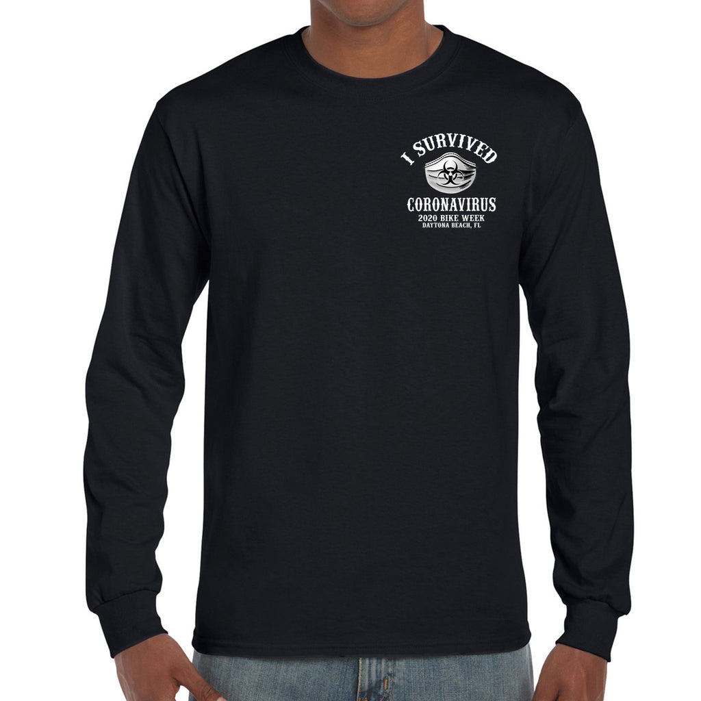 2020 Bike Week Daytona Beach Corona Long Sleeve Shirt