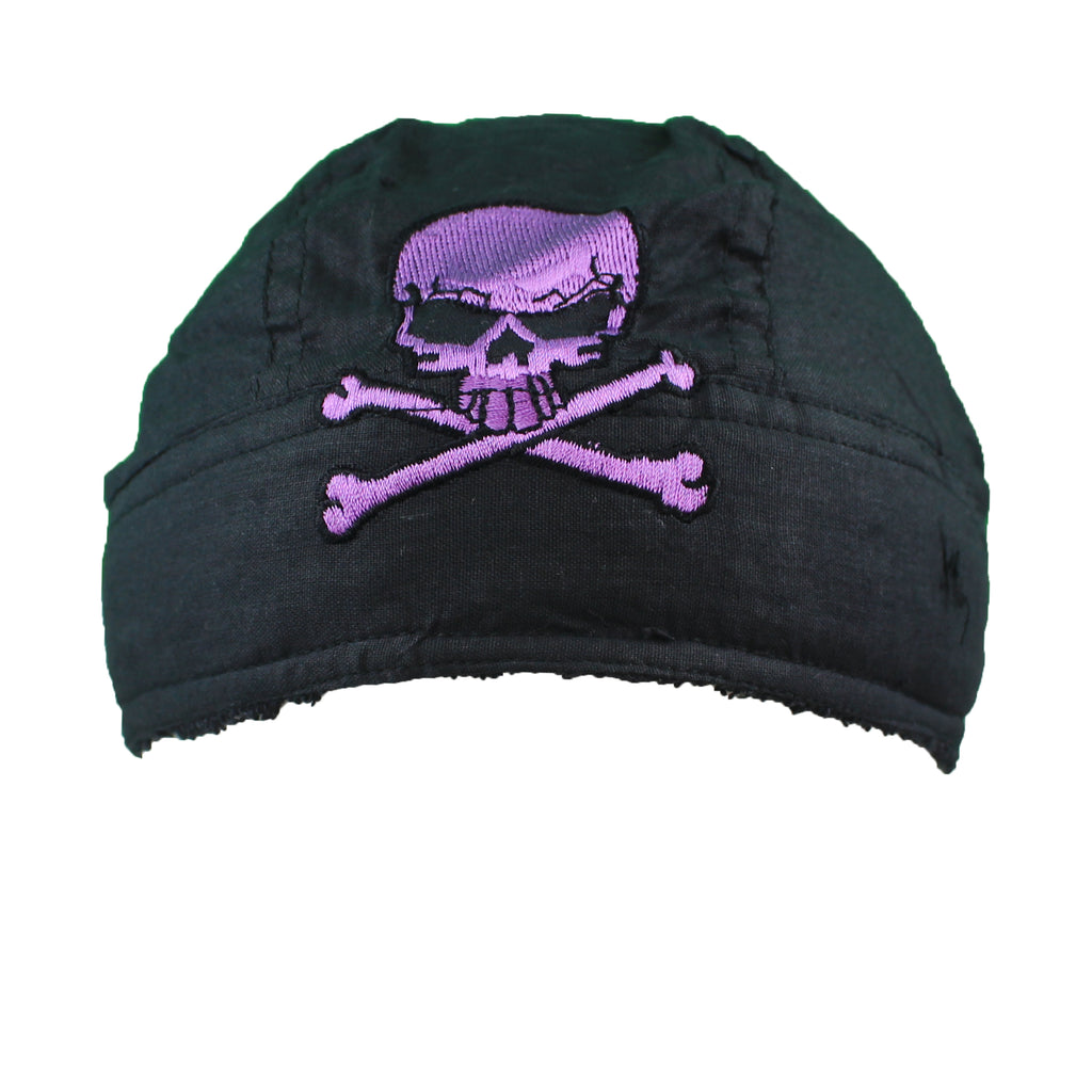 Purple Skull Du-Rag