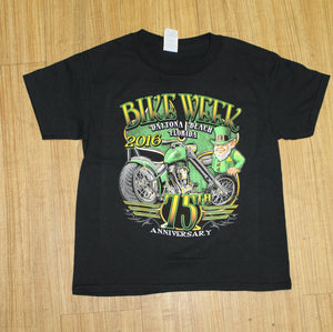Kids 2016 Bike Week Irish T-Shirt