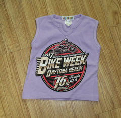 Toddler 2017 Bike Week Daytona Beach Official Tank Top