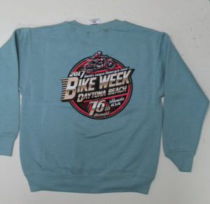Youth 2017 Bike Week Daytona Beach Official Logo Sweatshirt