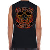 What Scares You Excites Me Flame Muscle Shirt