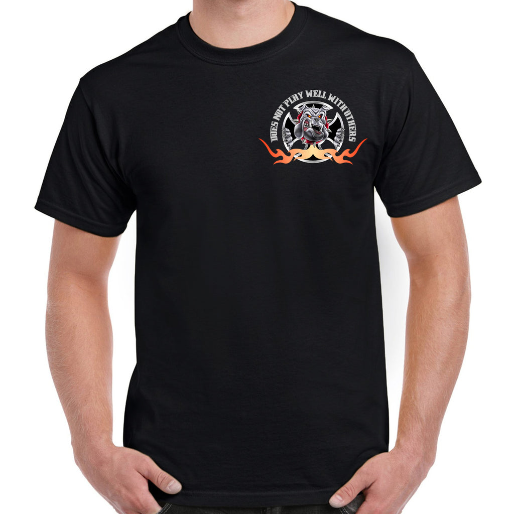 Bulldog Motorcycle T-Shirt