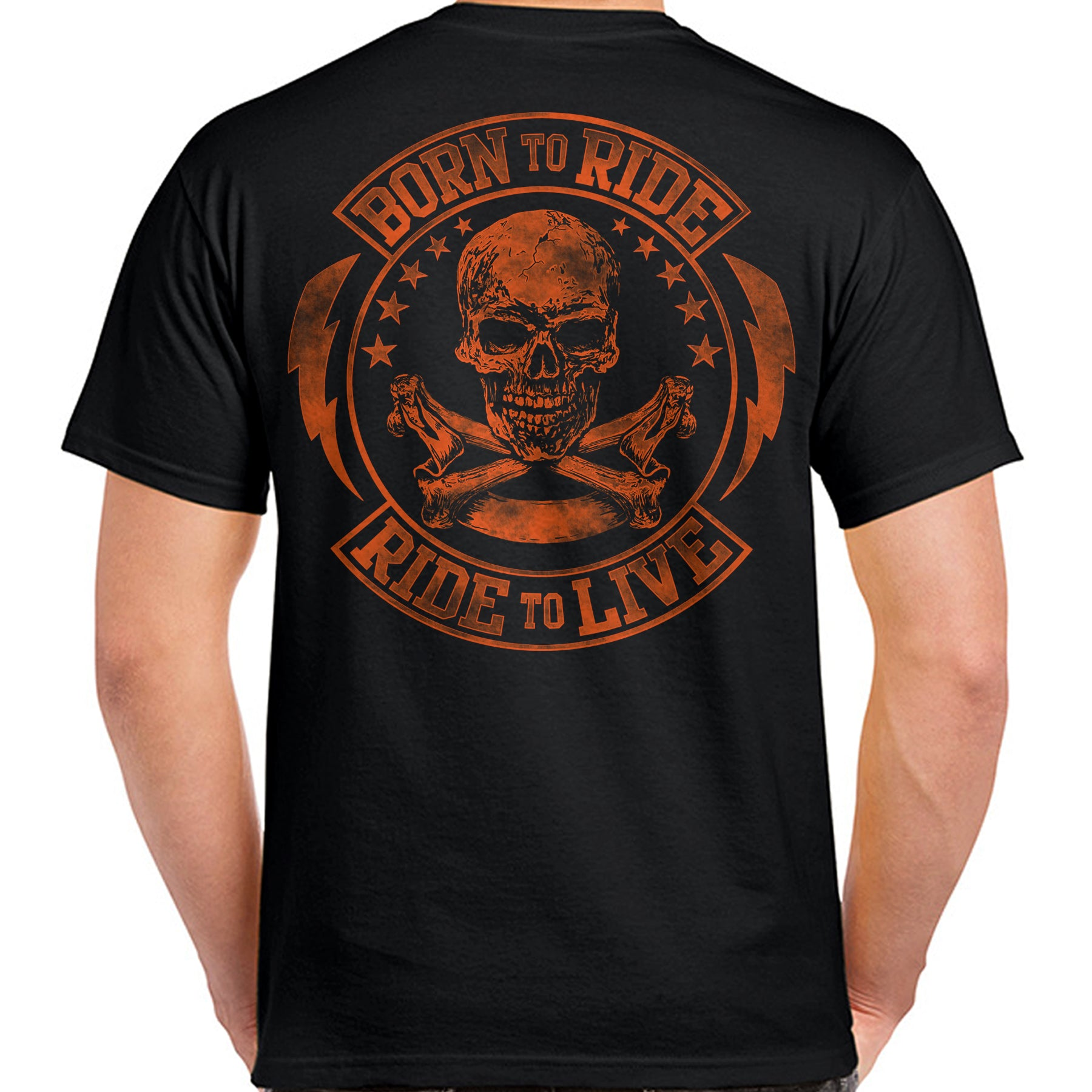4d3cd9f1 Born to Ride/Ride to Live T-Shirt – Biker Life Clothing