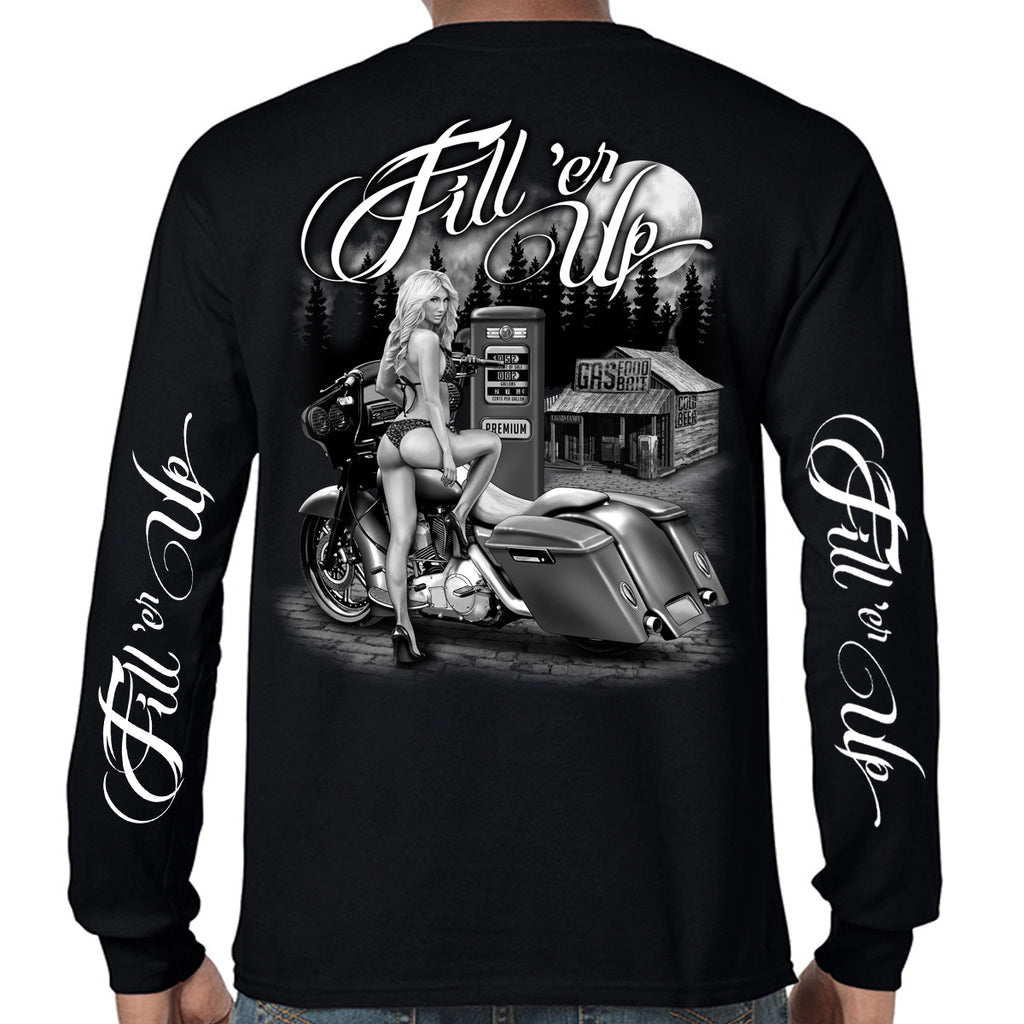 Men's Fill 'er Up Long Sleeve Shirt