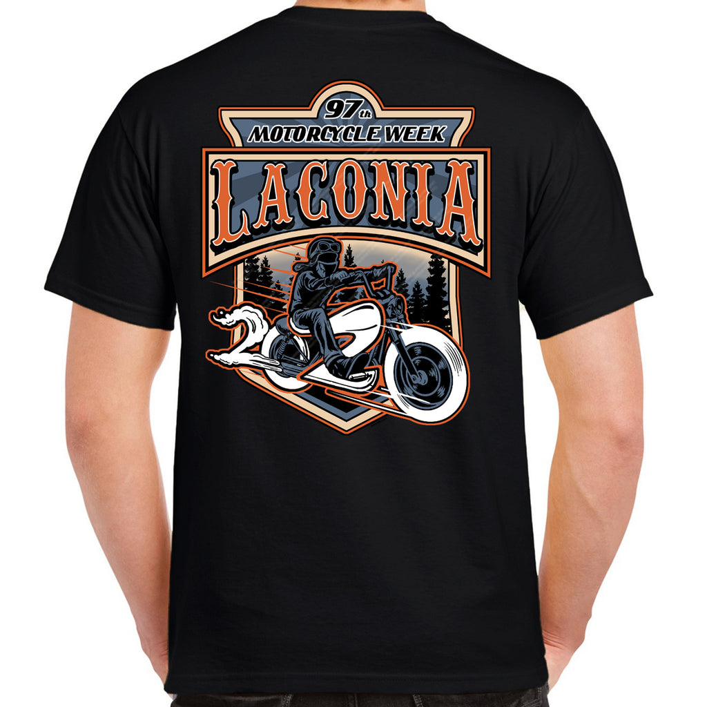 2020 Laconia Motorcycle Week Rider T-Shirt