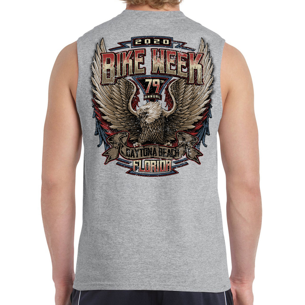 2020 Bike Week Daytona Beach Power Muscle Shirt