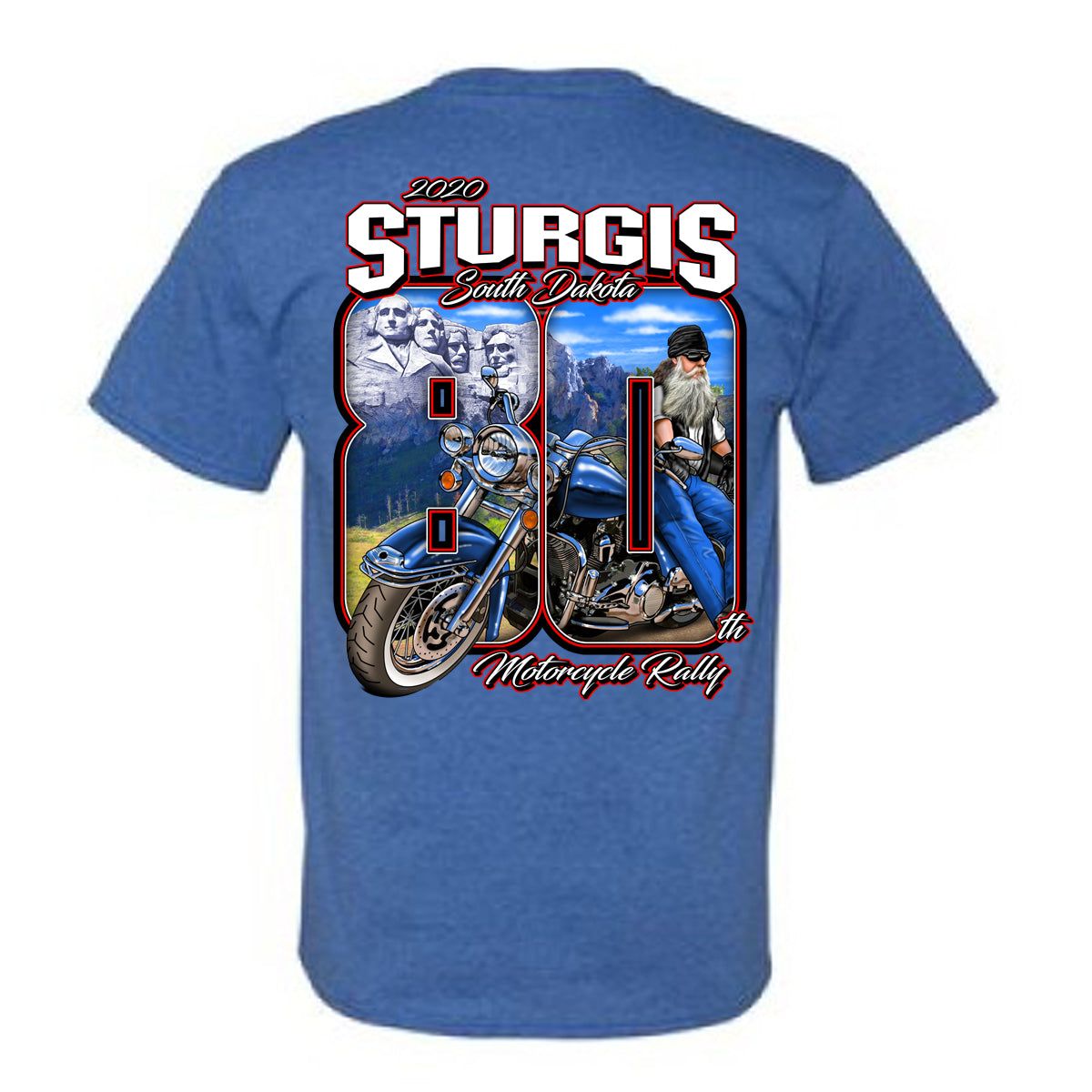 2020 Sturgis Harley-Davidson® Unisex Youth Clutched 80th Rally T-Shirt