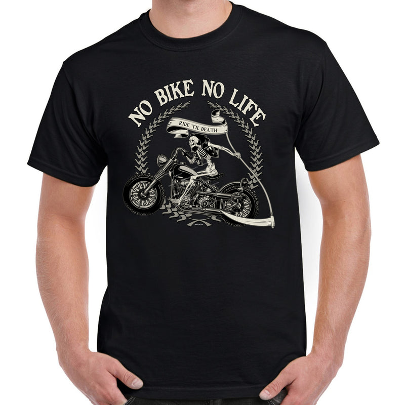 No Bike No Life T-Shirt