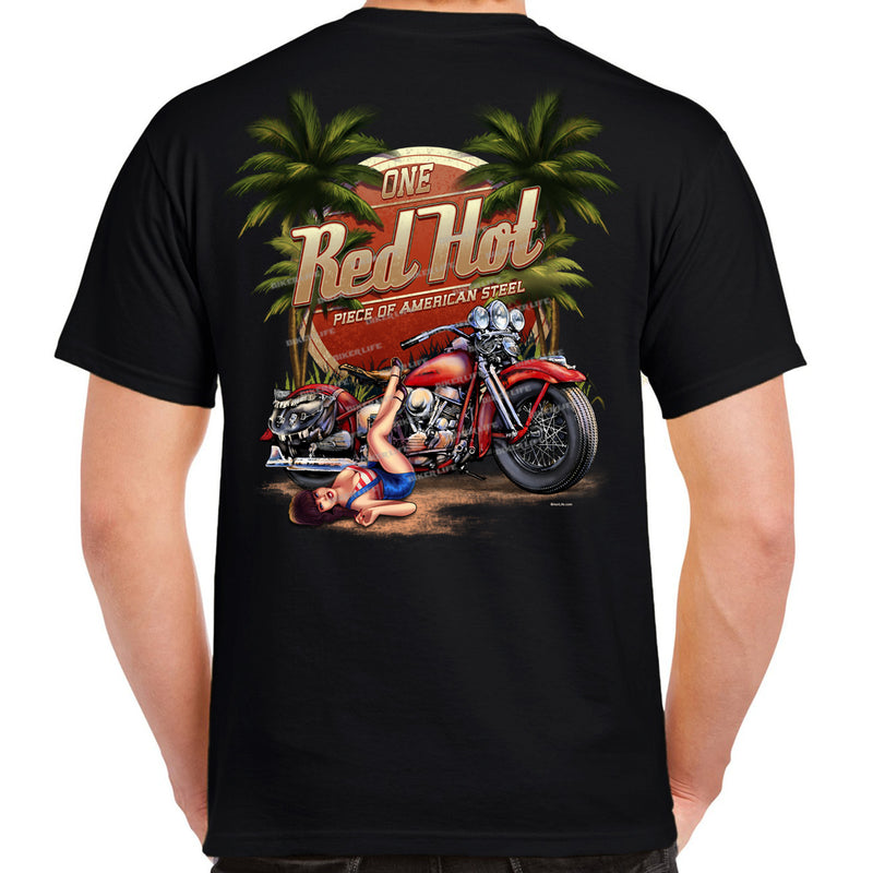 Red Hot American Steel T-Shirt