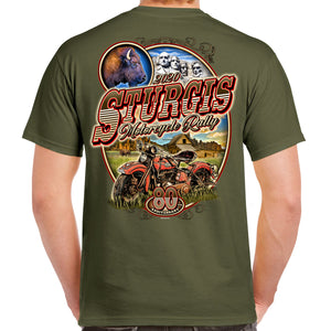 2020 Sturgis Motorcycle Rally Classic Vintage T-Shirt
