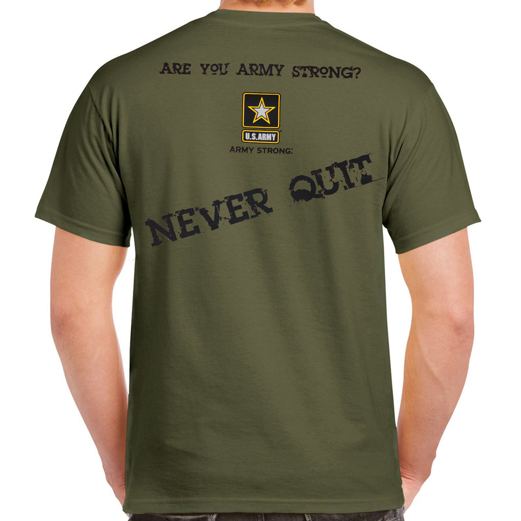 Army Strong Soldier's Creed T-Shirt