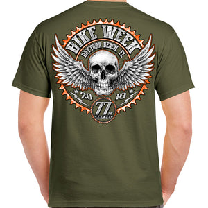 2018 Bike Week Daytona Beach Gearhead T-Shirt
