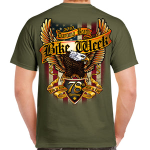 2019 Bike Week Daytona Beach Freedom Eagle T-Shirt