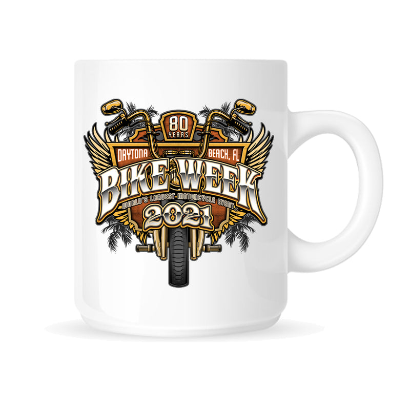 2021 Bike Week Daytona Beach Official Logo Mug