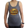 Ladies 2020 Bike Week Daytona Beach Official Logo Burnout Tank Top