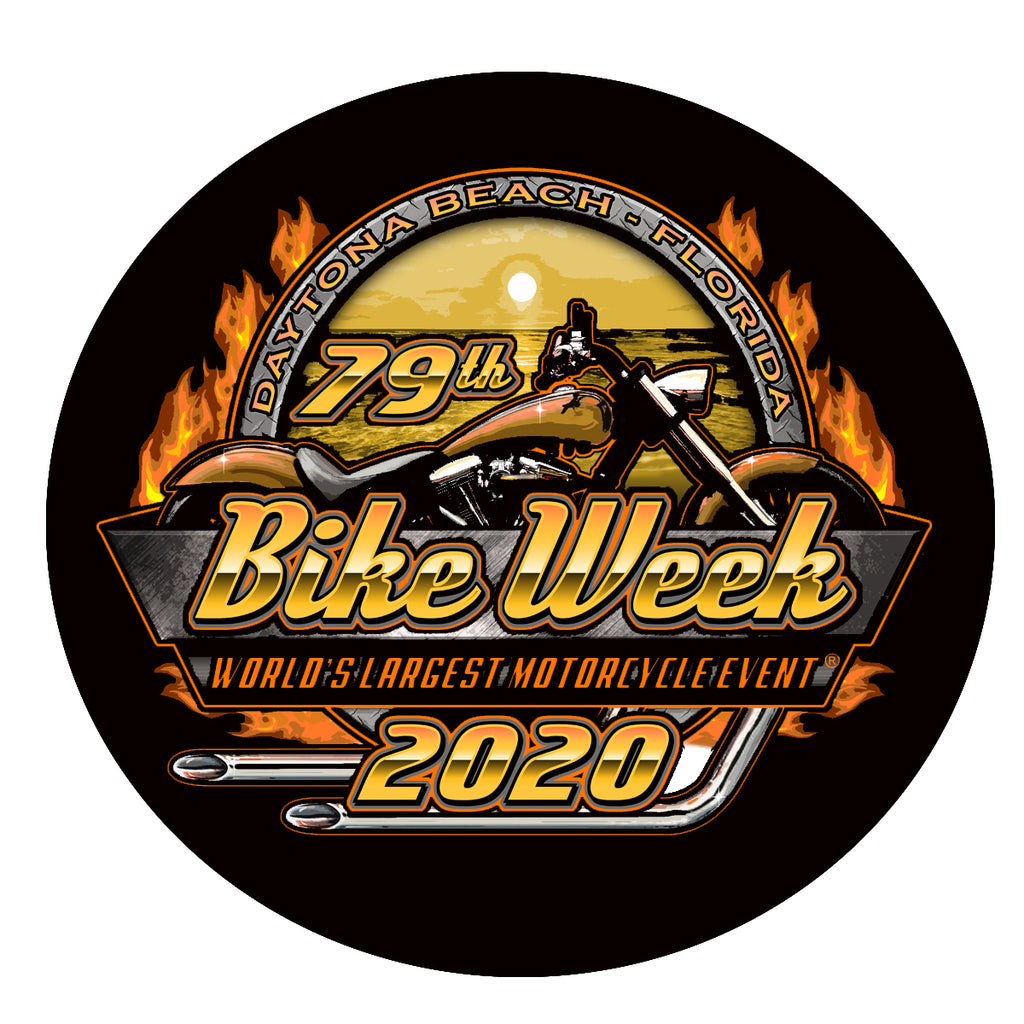 2020 Bike Week Daytona Beach Official Logo Sticker