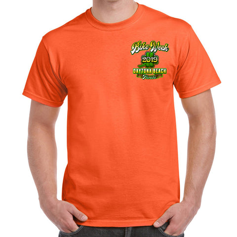 2019 Bike Week Daytona Beach American Clover T-Shirt
