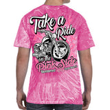 2018 Biketoberfest Daytona Beach Take a Ride On The Pink Side T-Shirt