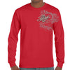 Front of 2019 Sturgis Legend Engine Long Sleeve in Red