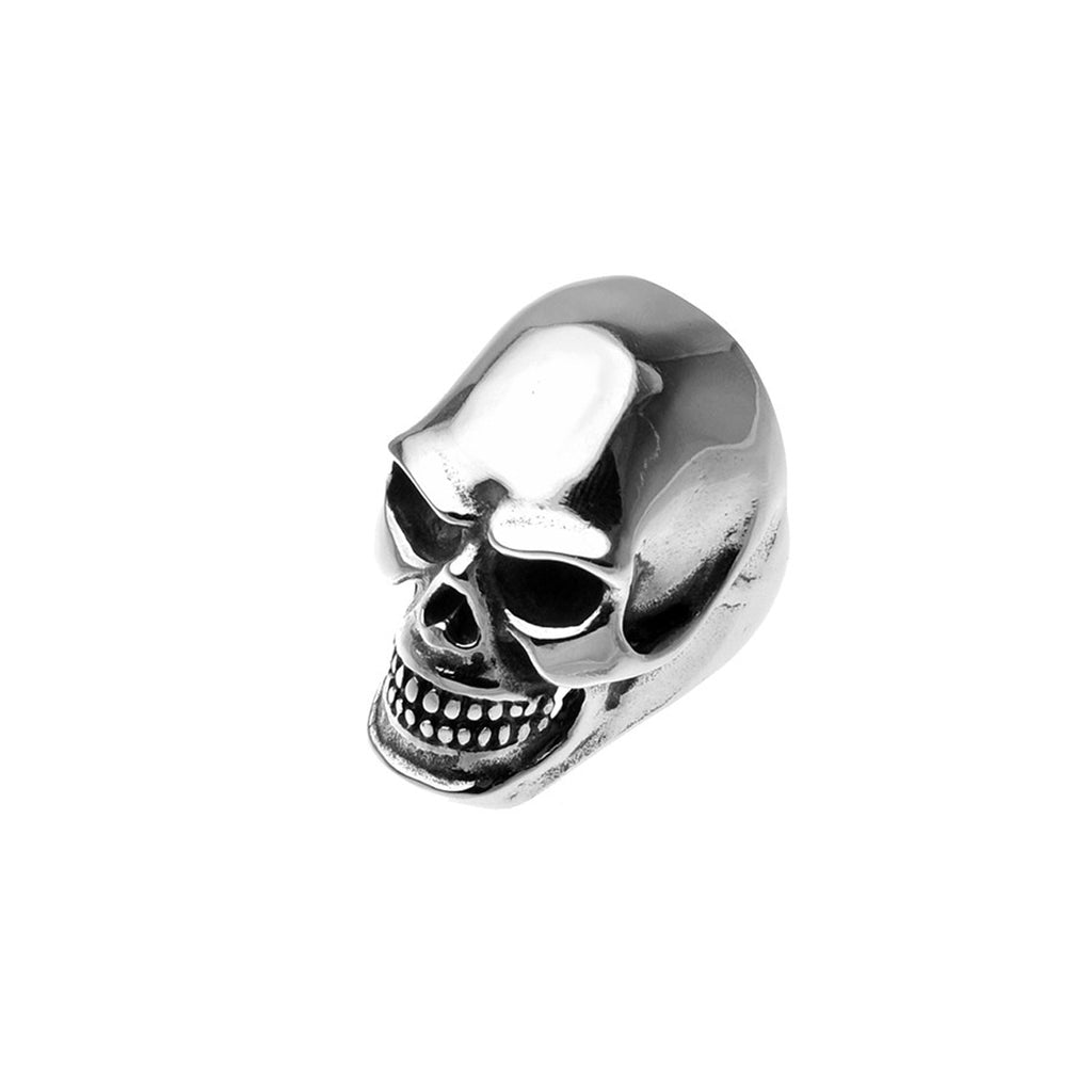 Large Skull Head Stainless Steel Biker Ring