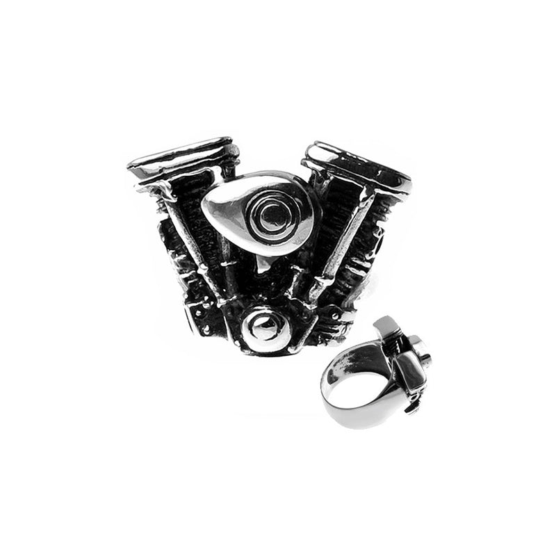 Motorcycle Engine Stainless Steel Biker Ring