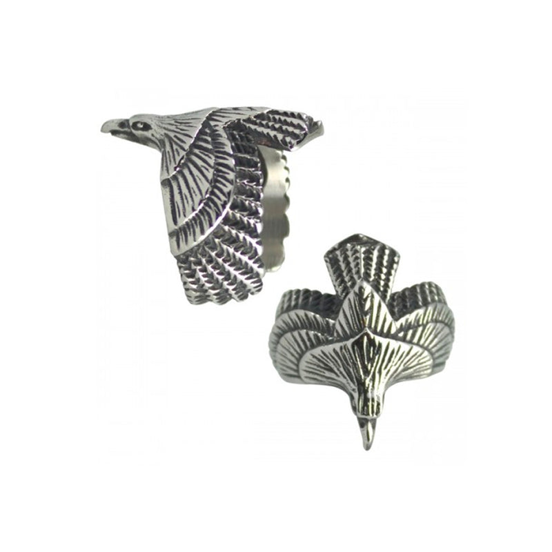 Wild Eagle Stainless Steel Biker Ring