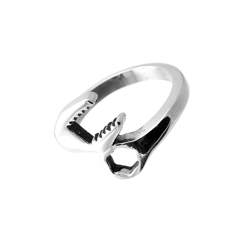 Wrench Tool Stainless Steel Biker Ring