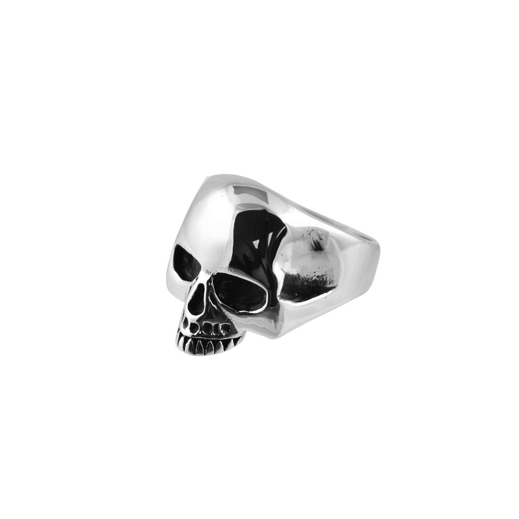 Get Skulled Skull Stainless Steel Biker Ring