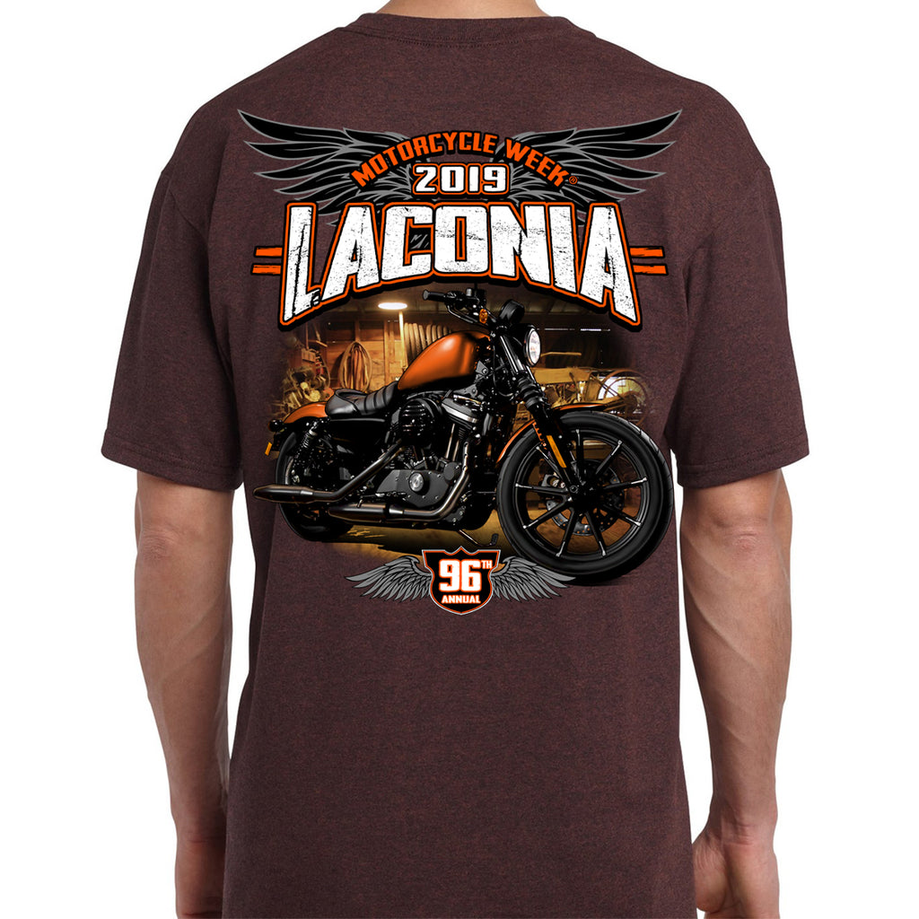 2019 Laconia Motorcycle Week Dark Side T-Shirt