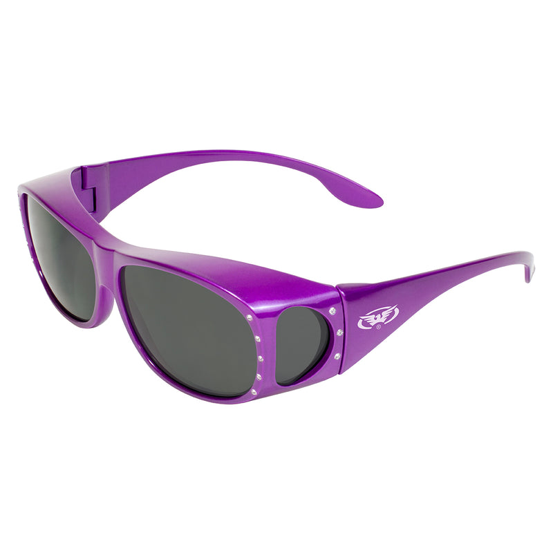 Global Vision Fanfare 2 Over The Glasses Women's Motorcycle Sunglasses