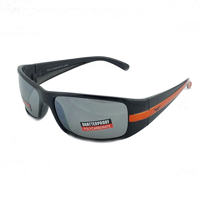 Global Vision Stripe New Rally Sunglasses