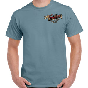 2018 Sturgis Black Hills Rally Rushmore Flag T-Shirt