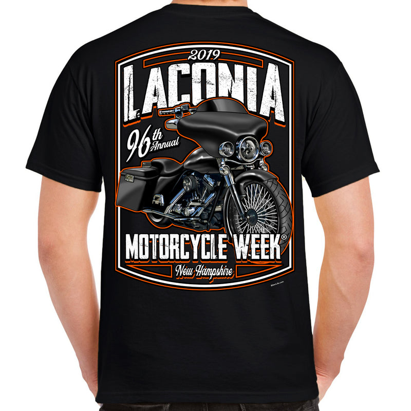 2019 Laconia Motorcycle Week Hot Bagger T-Shirt