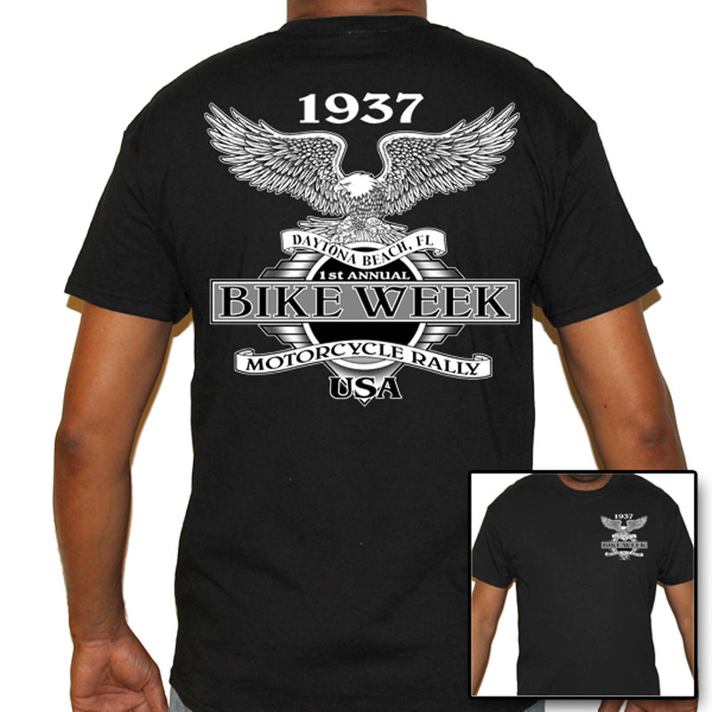 Nostalgic Traditional Eagle Bike Week T-Shirt