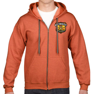 2018 Biketoberfest Daytona Beach Official Logo Zip Up Hoodie
